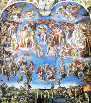 Roma celebra gli affreschi della Cappella Sistina