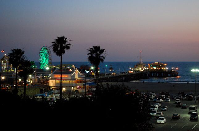 Santa+Monica+Beach