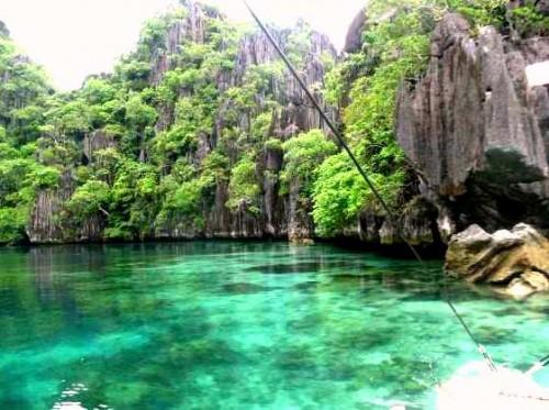 Coron, nella Provincia di Palawan