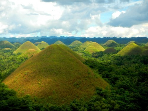 Chocolate Hills nelle Filippine