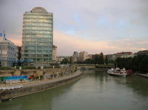 Vienna, Donaukanal